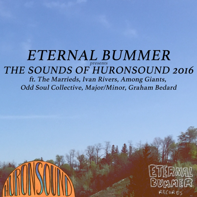 Eternal Bummer Huronsound 2016 Album Art